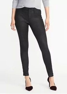 Mid-Rise Coated Rockstar Jeans for Women