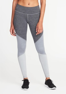 Old Navy Mid-Rise Color-Block Compression Leggings for Women