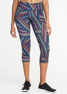 Old Navy Mid-Rise Compression Crops for Women