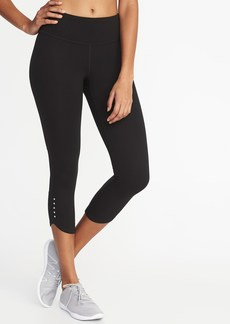 Old Navy Mid-Rise Compression Run Crops for Women
