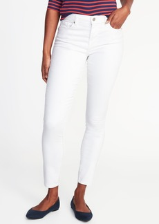 Mid-Rise Curvy Clean-Slate Skinny Jeans for Women