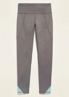 Old Navy Mid-Rise Elevate Color-Blocked Side-Pocket Leggings for Girls