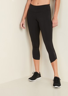 Old Navy Mid-Rise Elevate Compression Run Crops for Women