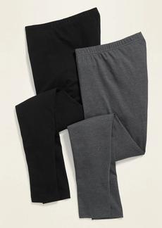 Old Navy Mid-Rise Jersey Leggings 2-Pack for Women