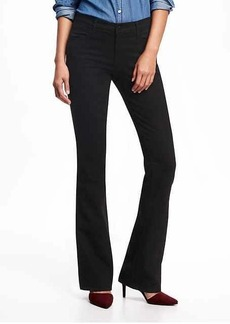 Mid-Rise Micro-Flare Jeans for Women