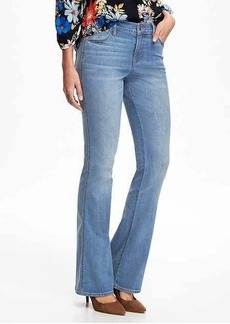 Mid-Rise Micro Flare Jeans for Women