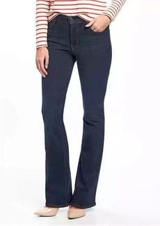 Mid-Rise Micro-Flare Rockstar Jeans for Women