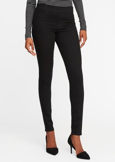 Old Navy Mid-Rise Never-Fade Rockstar Black Jeggings for Women