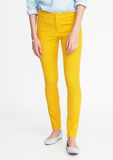 Mid-Rise Pixie Full-Length Pants for Women