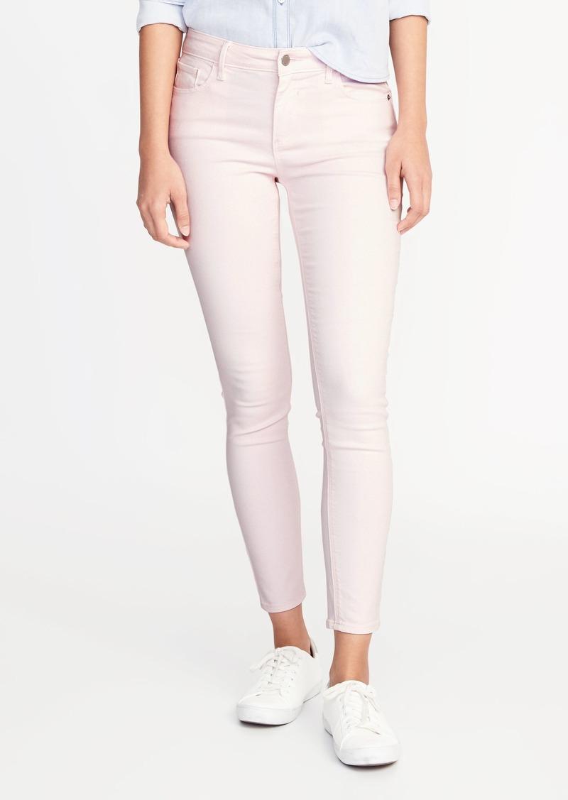 428b90c867 Old Navy Mid-Rise Pop-Color Rockstar Super Skinny Ankle Jeans for Women