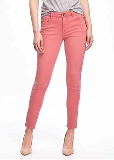 Mid-Rise Pop-Color Rockstar Jeans for Women