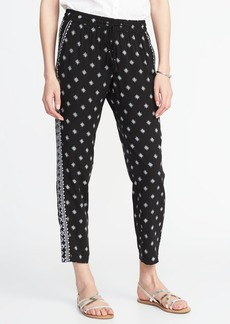 Old Navy Mid-Rise Printed Soft Pants for Women