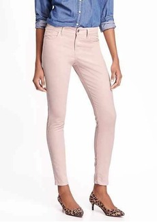 Mid-Rise Rockstar Cord Skinny Jeans for Women
