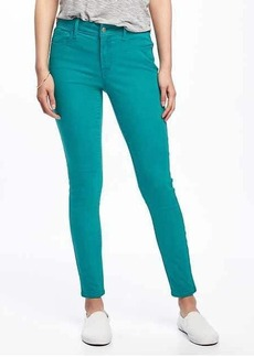Mid-Rise Rockstar Pop-Color Ankle Jeans for Women