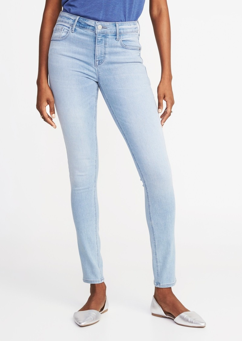 22a11b54a05 Old Navy Mid-Rise Rockstar Super Skinny Jeans for Women | Denim