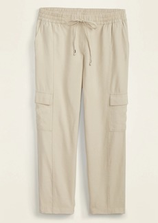 Old Navy Mid-Rise Soft Pull-On Cargo Pants for Women