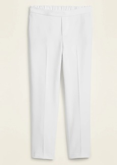Old Navy Mid-Rise Straight Double-Weave Ankle Pants for Women