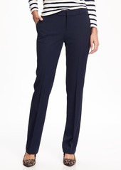 Old Navy Mid-Rise Straight Pants for Women