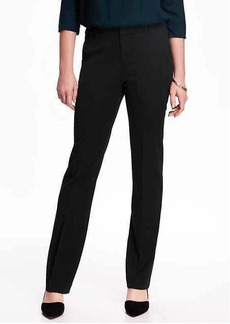 Old Navy Mid-Rise Straight Trousers for Women