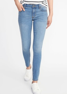 Mid-Rise Super-Skinny Ankle Jeans for Women