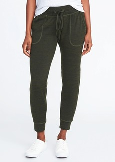 Old Navy Mid-Rise Sweater-Knit Joggers for Women