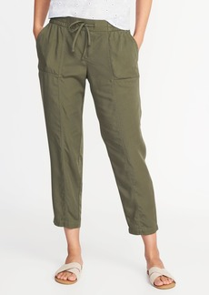 Mid-Rise Tencel&#174 Soft Utility Pants for Women