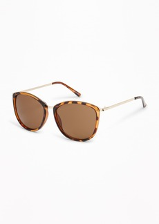 Old Navy Mixed-Material Sunglasses for Women