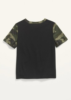 Old Navy Moisture-Wicking Camo-Print Tee for Toddler Boys