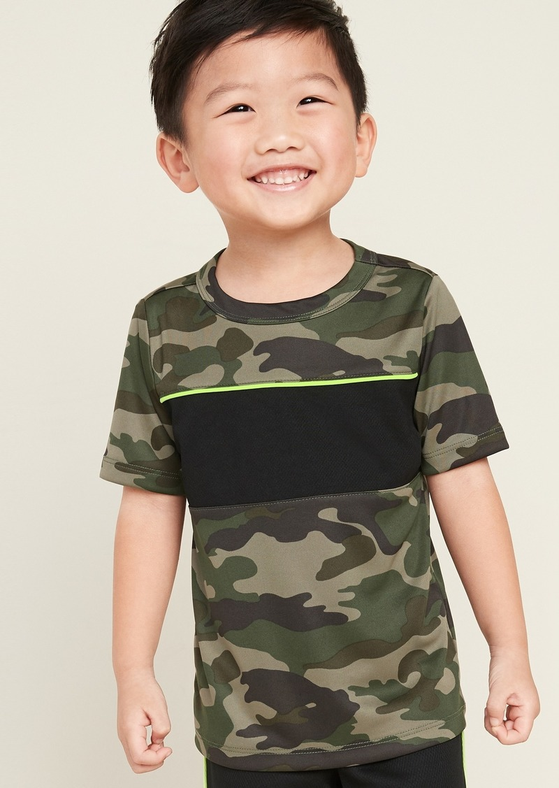 Old Navy Moisture-Wicking Color-Blocked Tee for Toddler Boys