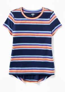 Old Navy Multi-Color Stripe Softest Tee for Girls