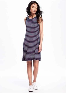 Multi-Stripe Swing Dress for Women