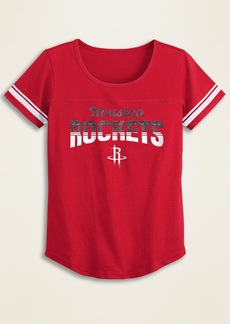 Old Navy NBA&#174 Team-Graphic Sleeve-Stripe Tee for Girls