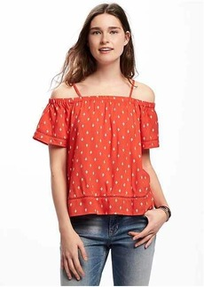Old Navy Off-the-Shoulder Swing Top for Women