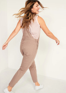 Old Navy O.G. Straight Pop-Color Jean Overalls for Women