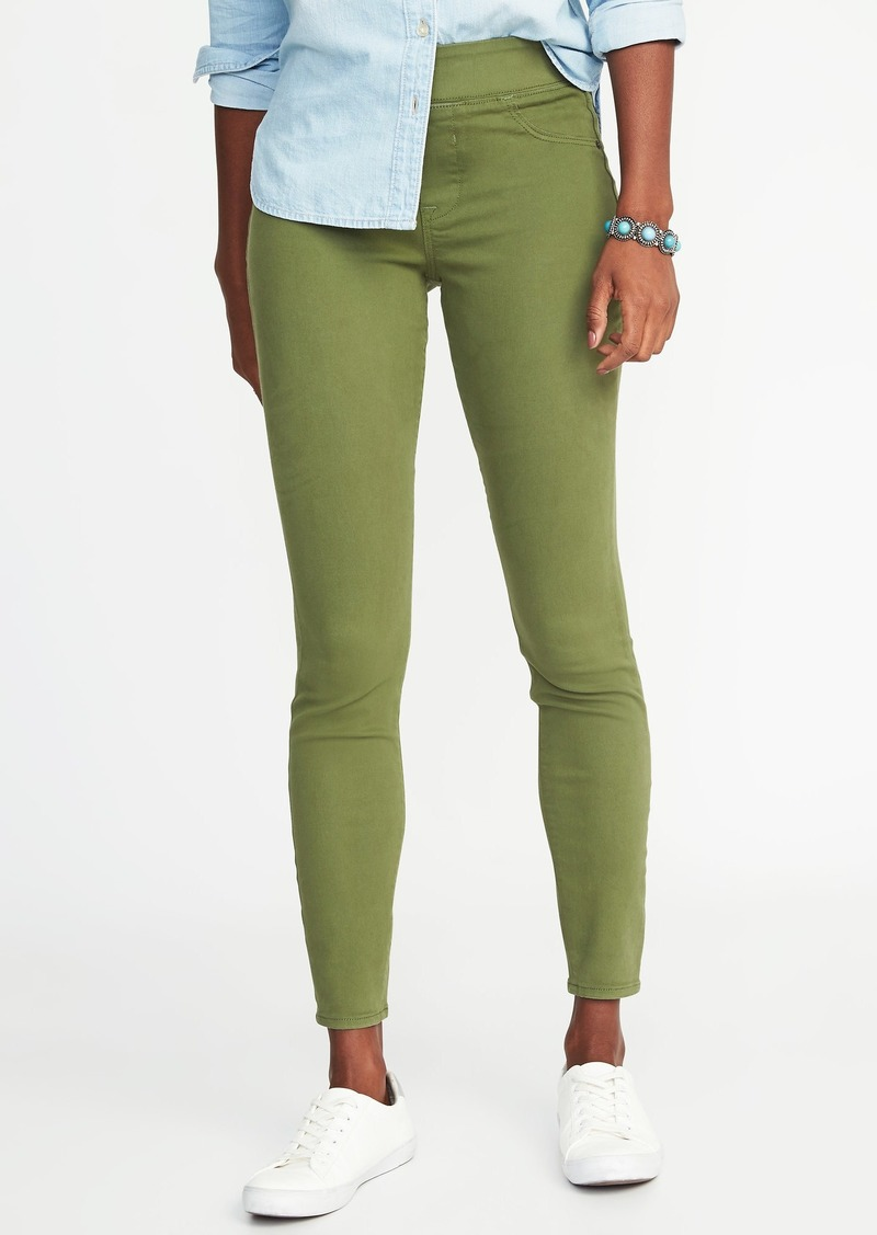 6fc2e62093bab Old Navy Olive Rockstar Jeggings for Women | Denim