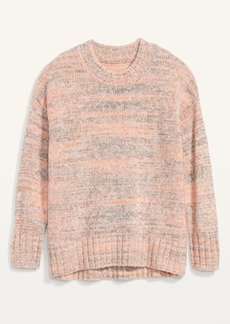 Old Navy Oversized Cozy Space-Dye Sweater for Women