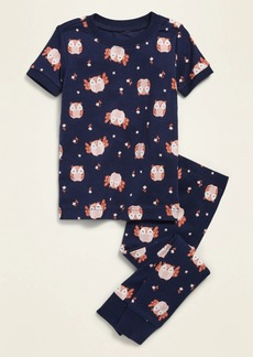 Old Navy Owl-Print Pajama Set for Toddler & Baby