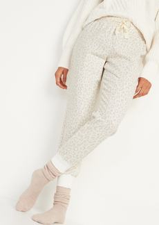 Old Navy Patterned Flannel Jogger Pajama Pants for Women