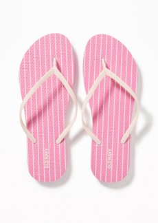 Old Navy Patterned Flip-Flops for Women