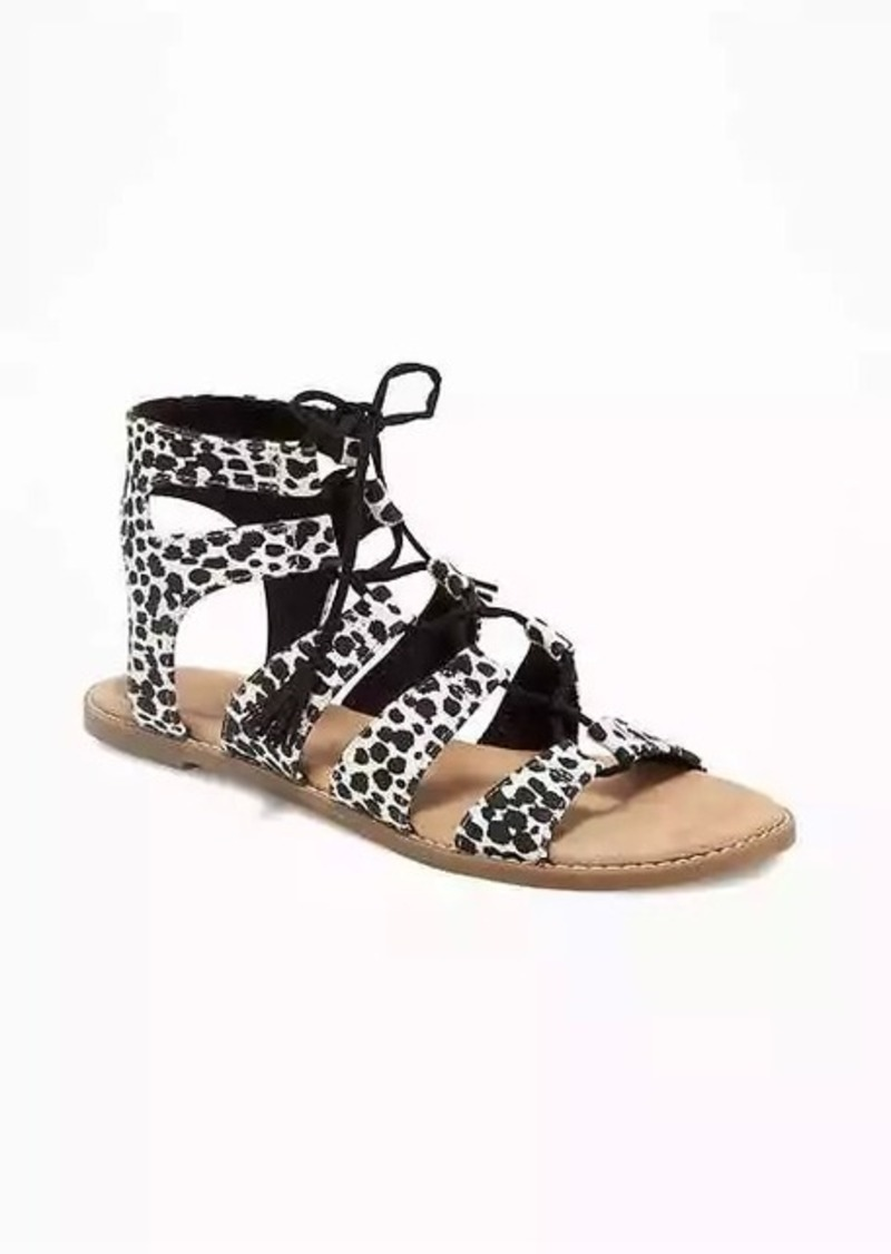 689af05cbc0b Old Navy Animal-Print Gladiator Sandals for Women