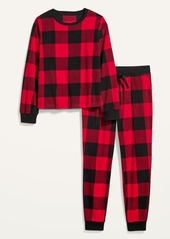 Old Navy Patterned Micro Performance Fleece Pajama Set for Women