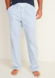Old Navy Patterned Poplin Pajama Pants for Men