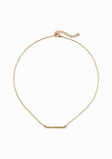 Old Navy Pavé-Bar Pendant Necklace for Women