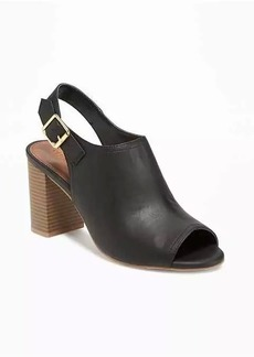Old Navy Peep-Toe Booties for Women