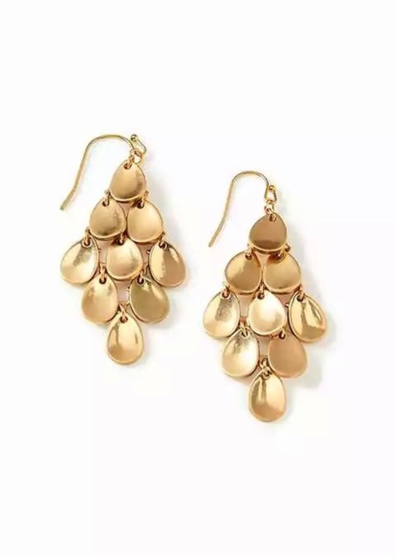 Old Navy Petal Chandelier Earrings For Women