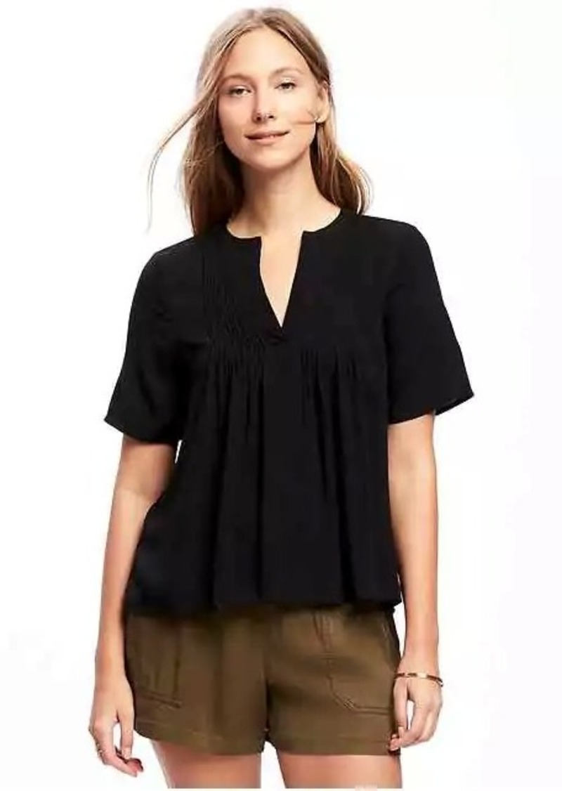 497013c2a7dae Old Navy Pintuck Swing Top for Women