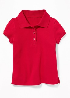 Old Navy Pique Uniform Polo for Toddler Girls