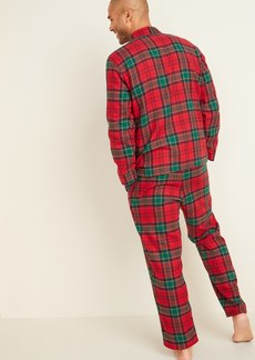 Old Navy Plaid Flannel Pajama Set for Men