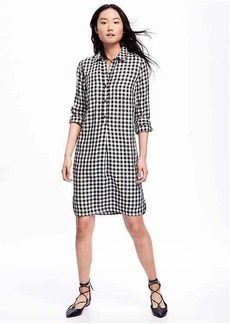 Old Navy Plaid Shirt Dress for Women