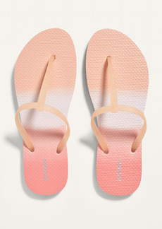 Old Navy Plant-Based T-Strap Flip-Flops for Women
